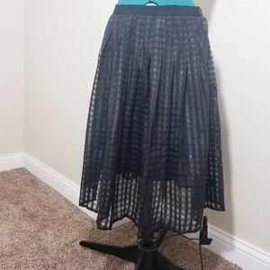 Elle Black Skirt